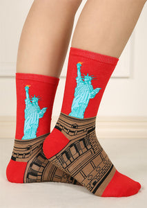 Statue of Liberty Socks