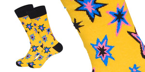 Yellow Sparks Socks