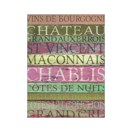 Posters - Red Burgundy Wines