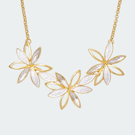 Crystal Lily Necklace