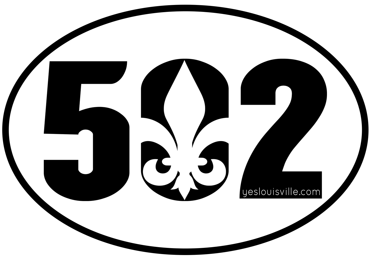 Original 502 Sticker
