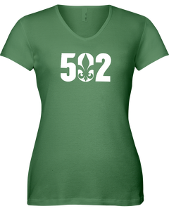 Ladies Original 502 Bella V-Neck