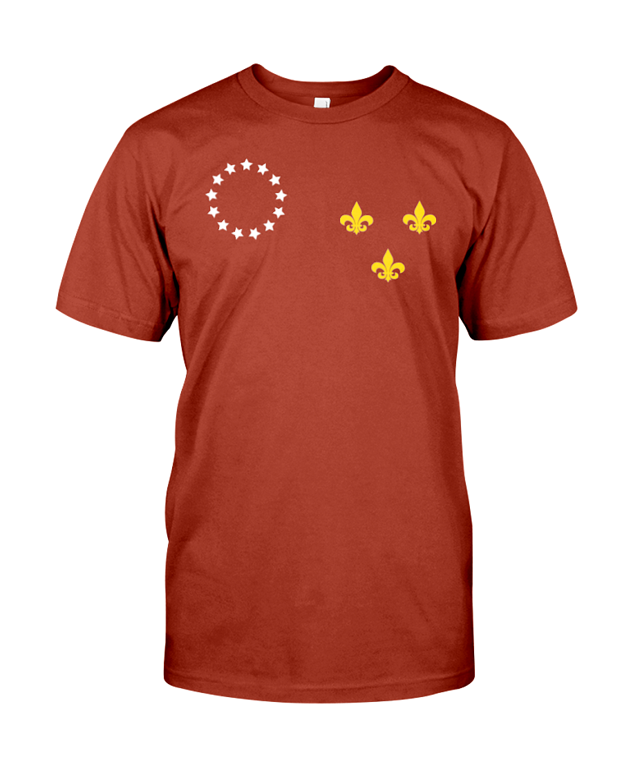 Original Louisville Flag Design T-Shirt