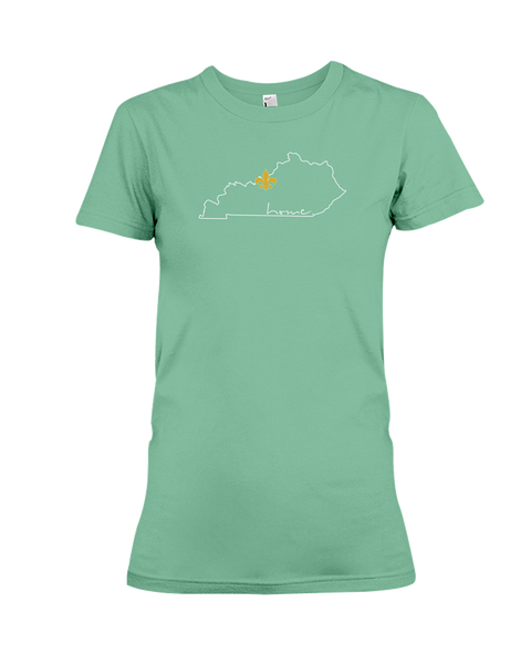 Ladies Yes Louisville, KY Home T-Shirt