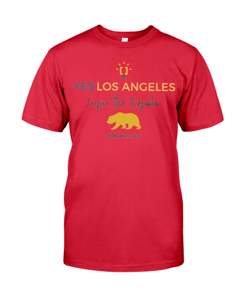 "Yes Los Angeles ""Inspire The Republic"" T-Shirt [Product With A  Purpose]"