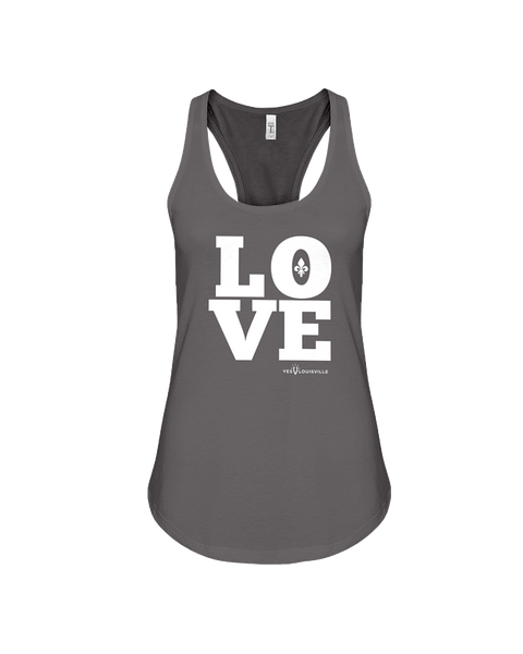Ladies LOVE Fleur-De-Lis Terry Tank Top  -->PWaP<--