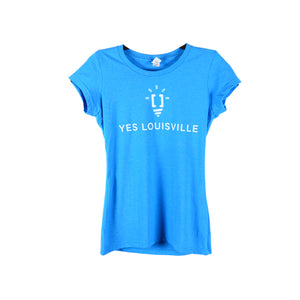 Women's Blue Yes Louisville