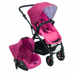 COCHE 4 EN 1 GALAXY ROSADO PS5230RS