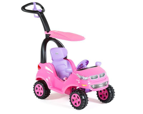 PUSH CAR PS1631 MONTABLE ADVENTURE ROSADO