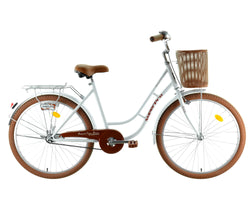 BICI 26 BEACH CITY BLANCO/CAFE EDICION LIMITADA