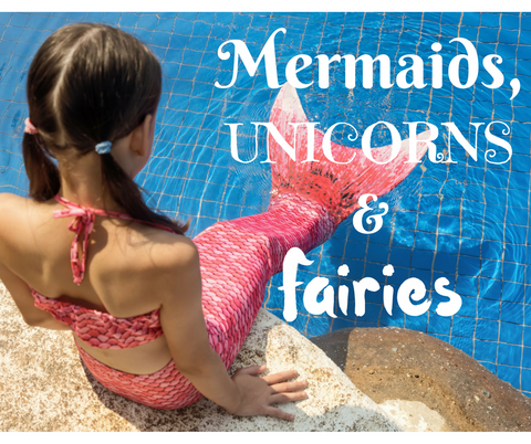 Mermaids, Unicorns & Fairies