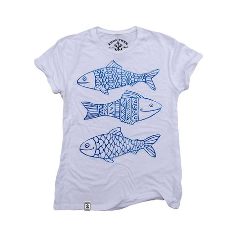 Happy Fish: Organic Fine Jersey Short Sleeve T-Shirt-Causes Crate