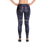 Dark Colored Boho Leggings-Causes Crate