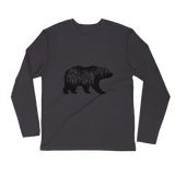 Rocky Mountain Bear Long Sleeve Fitted Crew-Causes Crate