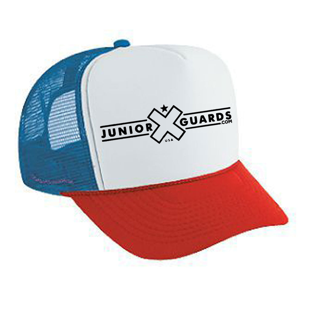 Jr. Guards Trucker Hat Mesh Back Snap Back Polyester/Nylon