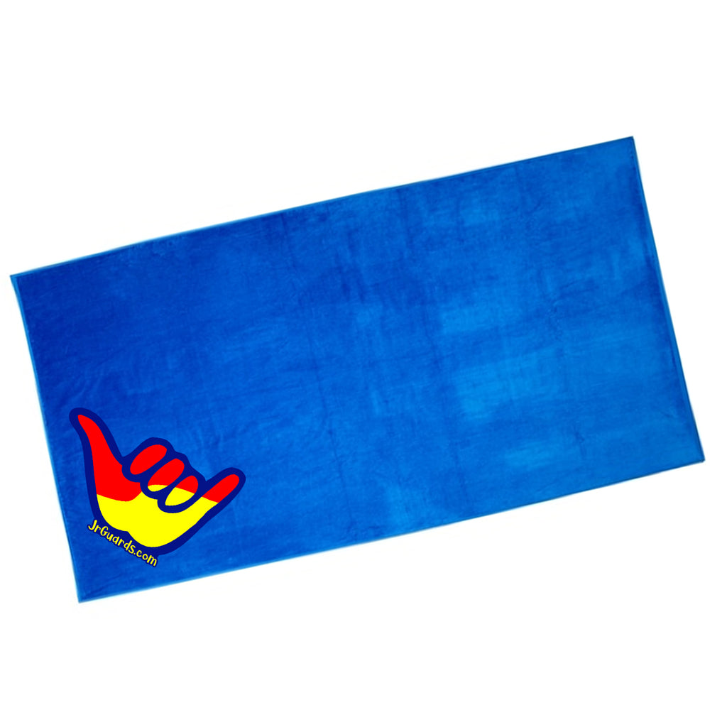 Jr. Guards Shaka Terry Cotton Beach Towel