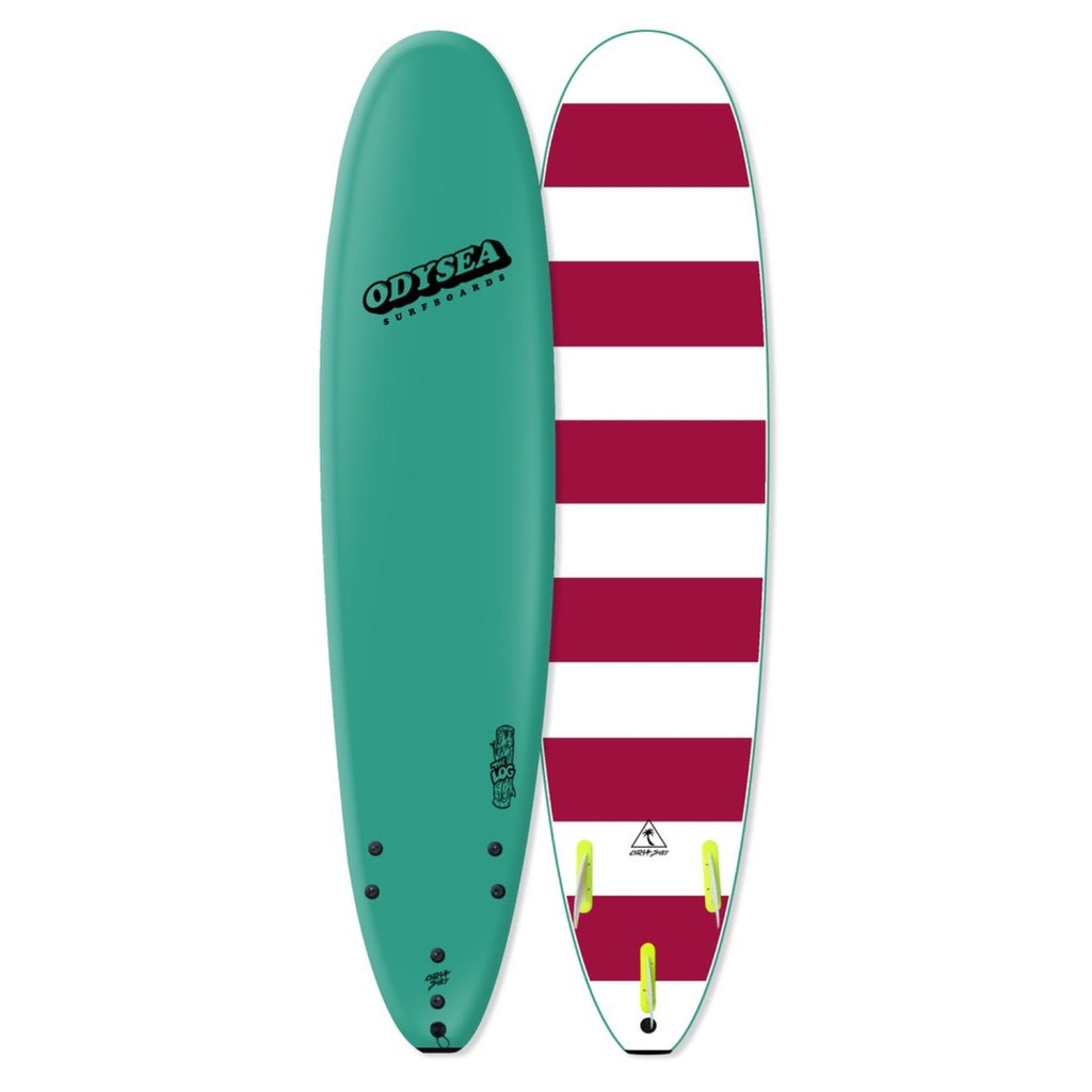 "Catch Surf Odysea Log Longboard Soft Surfboard - 8'0"" - Turquoise"