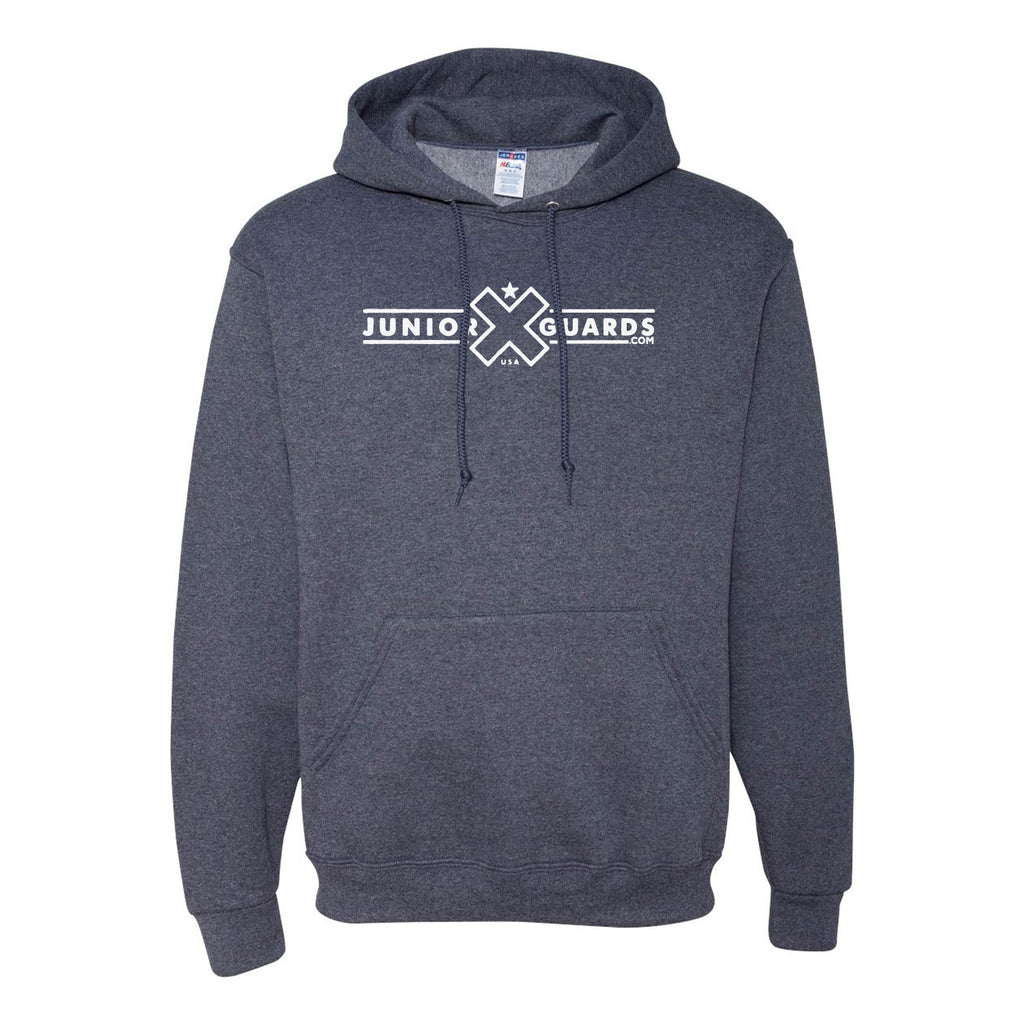 Jr. Guards Bar Logo Hooded Pullover Sweatshirt Cotton/Polyester