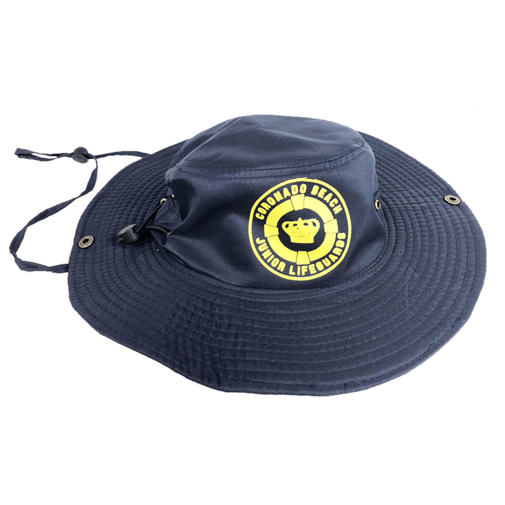 Coronado Junior Guards Youth Navy Bucket Hat with 100% UV protection