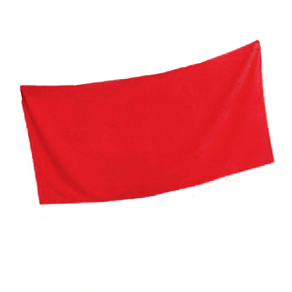 Jr. Guards Terry Cotton Beach Towel - Red