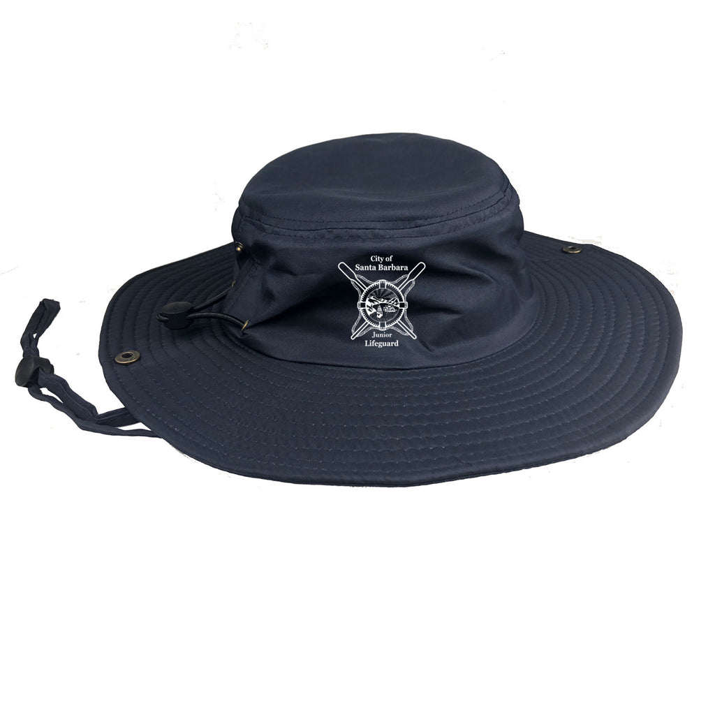 Santa Barbara Junior Guards Youth Navy Bucket Hat with 100% UV protection