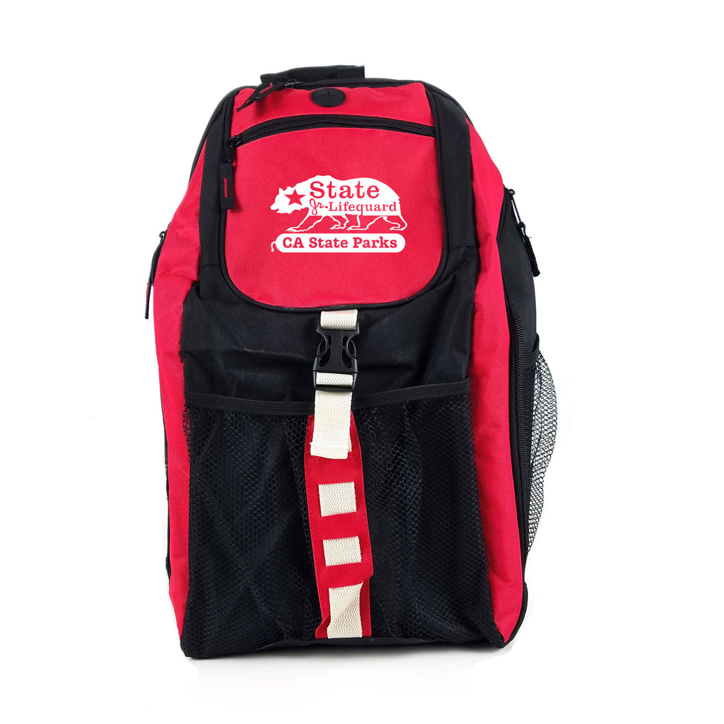 State JG Swimfin Insulated Backpack - Red / Black