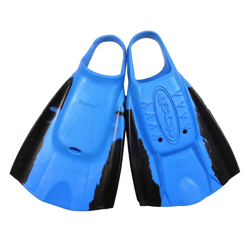 Tech Swimfins - Blue/Black - L