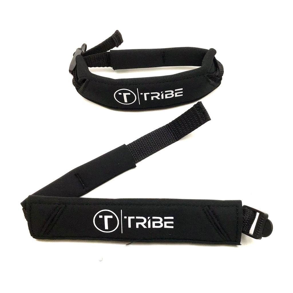 Tribe Heel Pad Fin Cinch - Large - Black