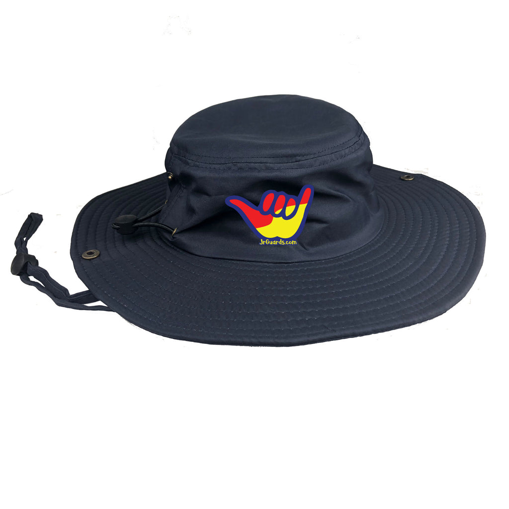 Jr. Guards Shaka Navy Bucket Hat with 100% UV protection