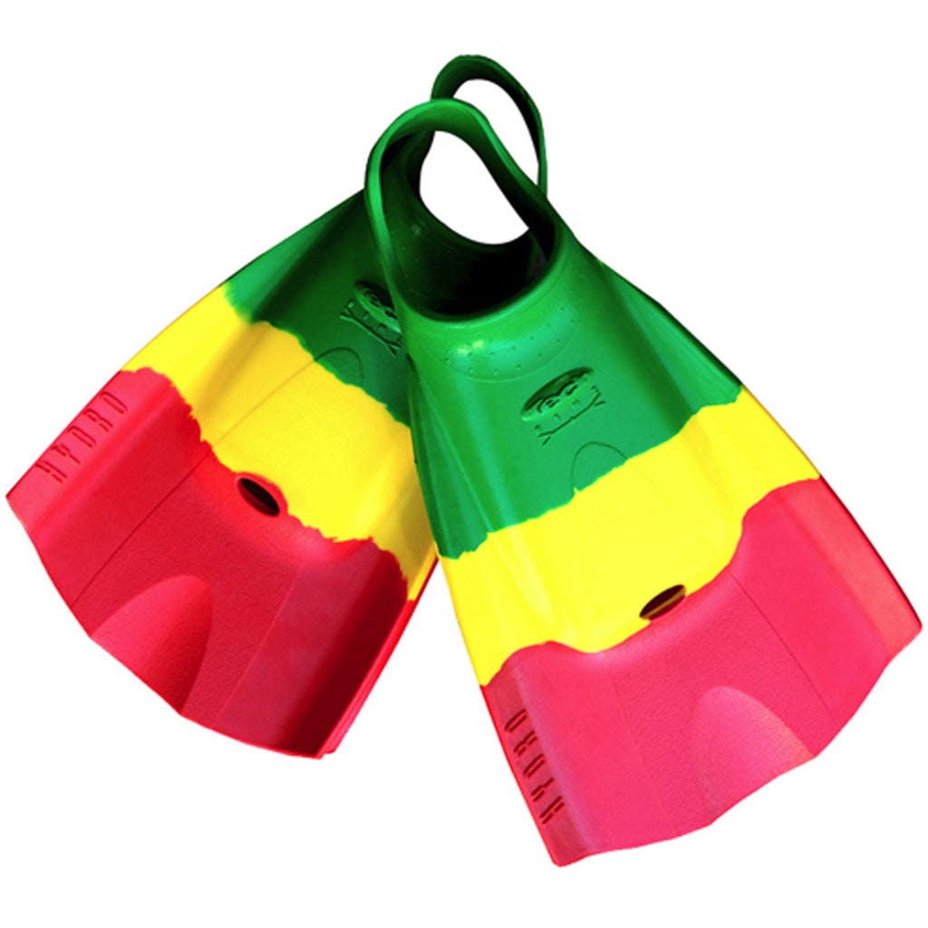 Tech Swimfins - Rasta - XS