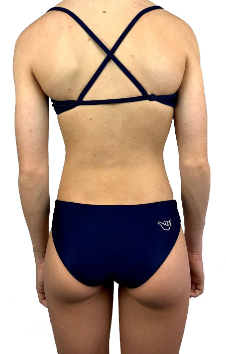 Girls' & Womens' Junior Guard JG Two Piece Swimsuit - Navy