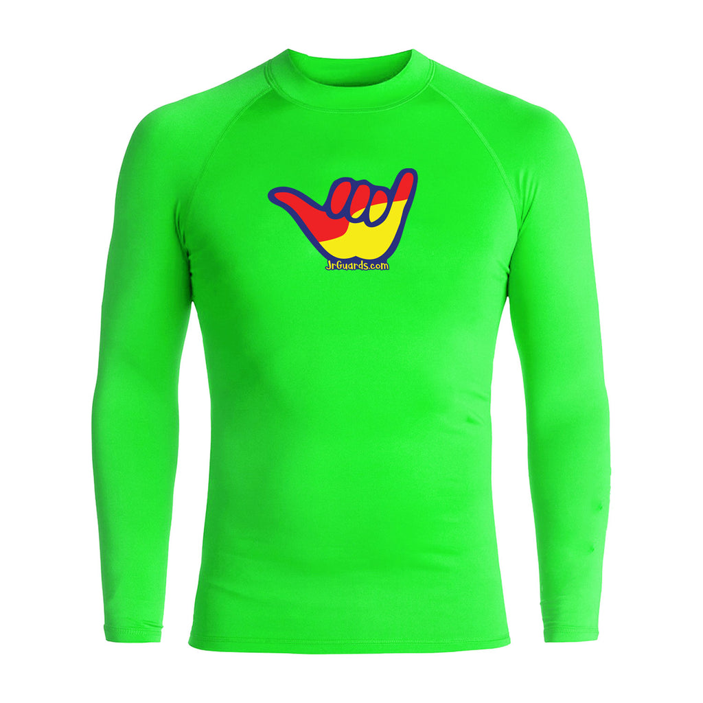 Junior Guards Shaka Long Sleeve Rashguard