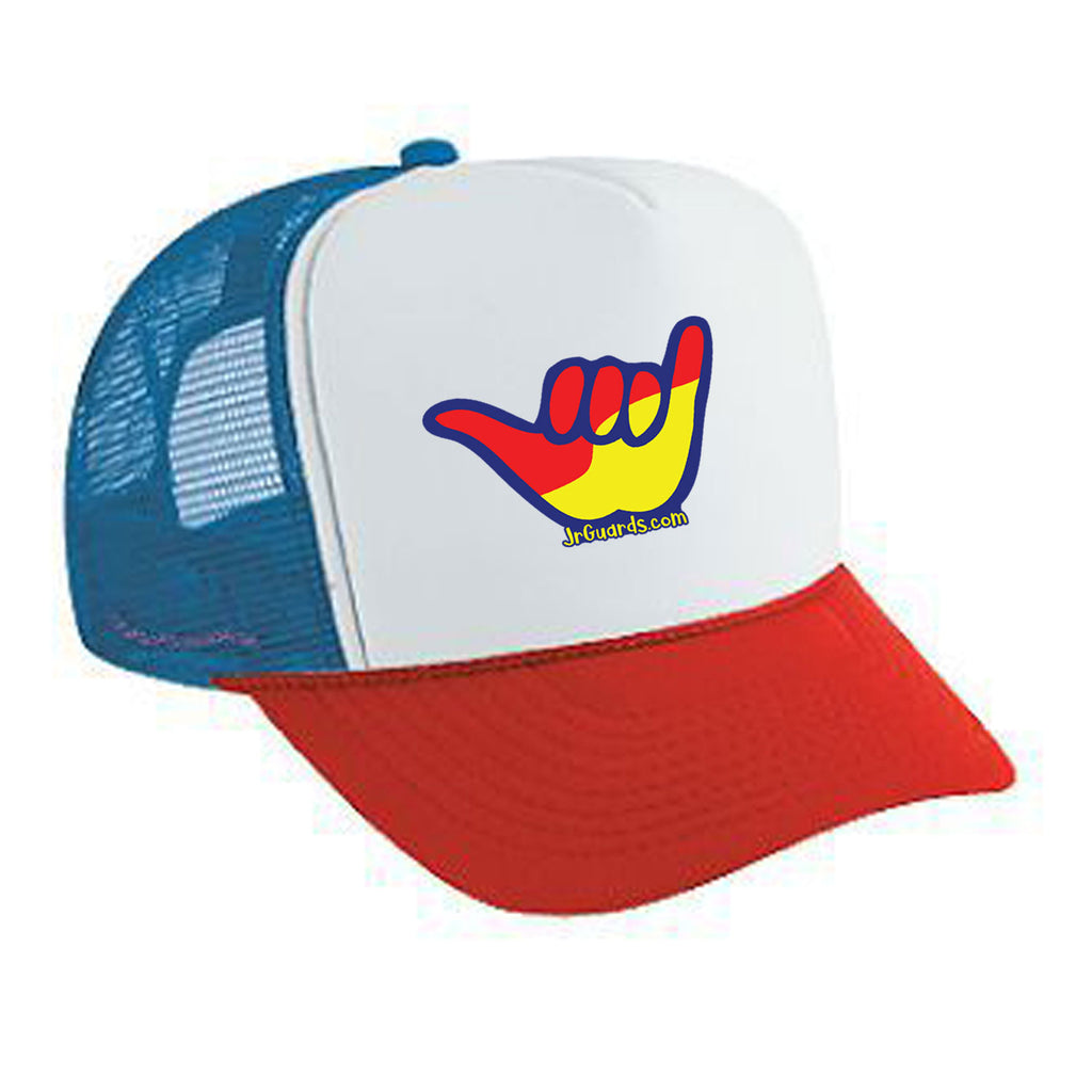 Jr. Guards Shaka Trucker Hat Mesh Back Hat