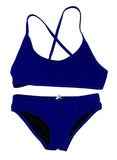 Girls' & Womens' Junior Guard JG Two Piece Swimsuit - Royal Blue