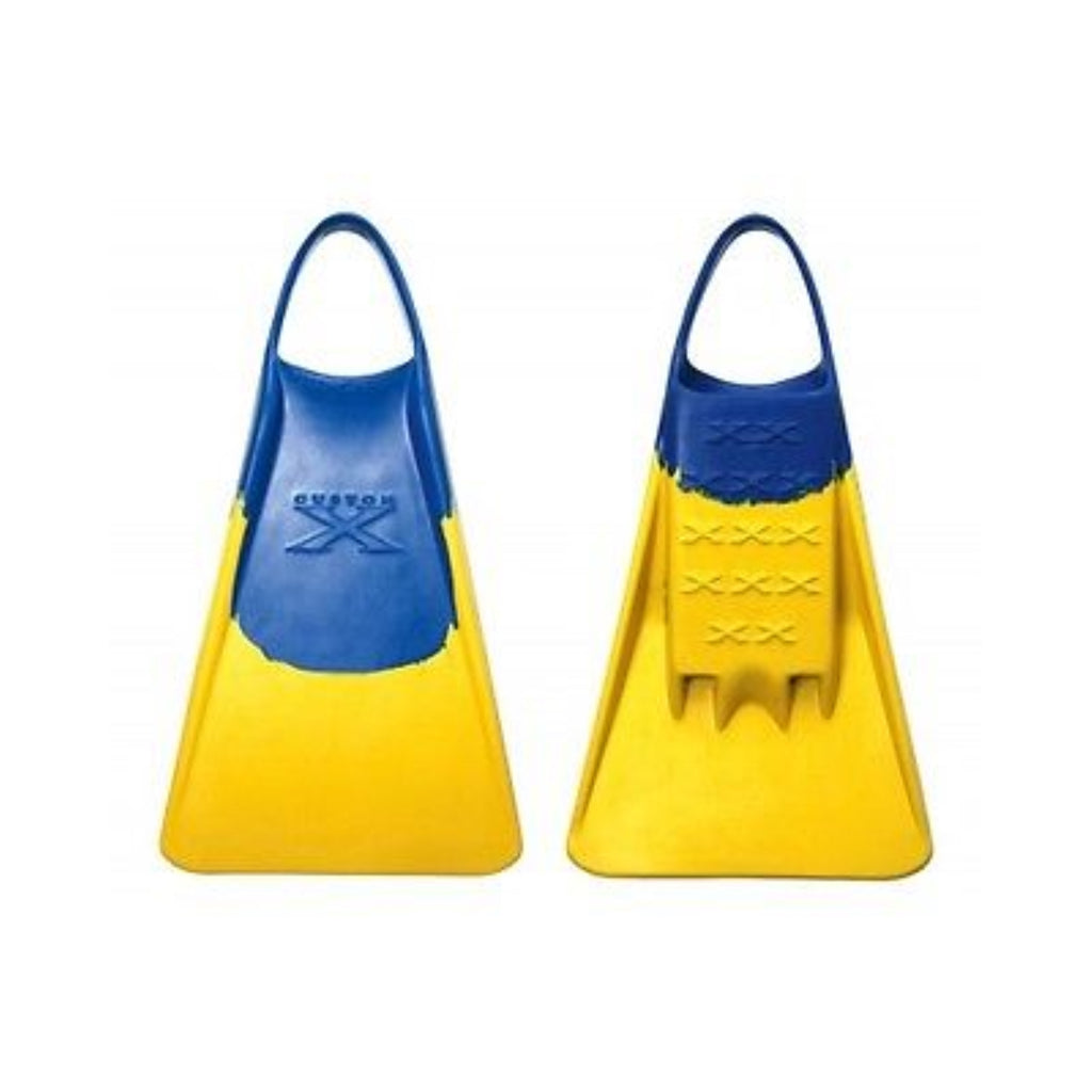 Custom X Swimfin - Blue/Yellow - XS