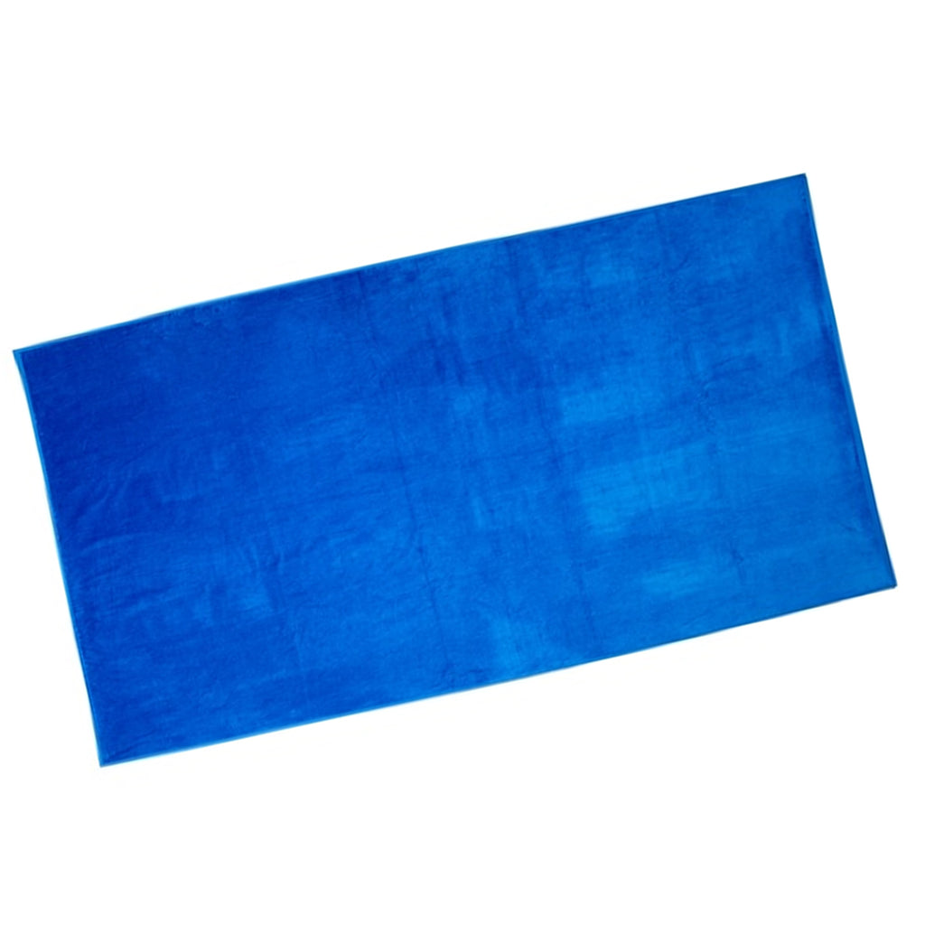 Jr. Guards Terry Cotton Beach Towel - Blue