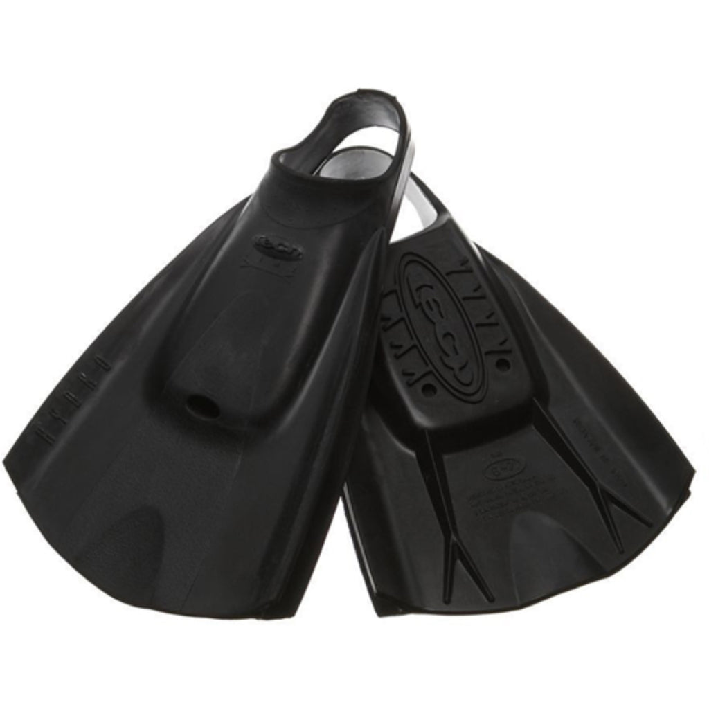 Tech Swimfins - Black - L