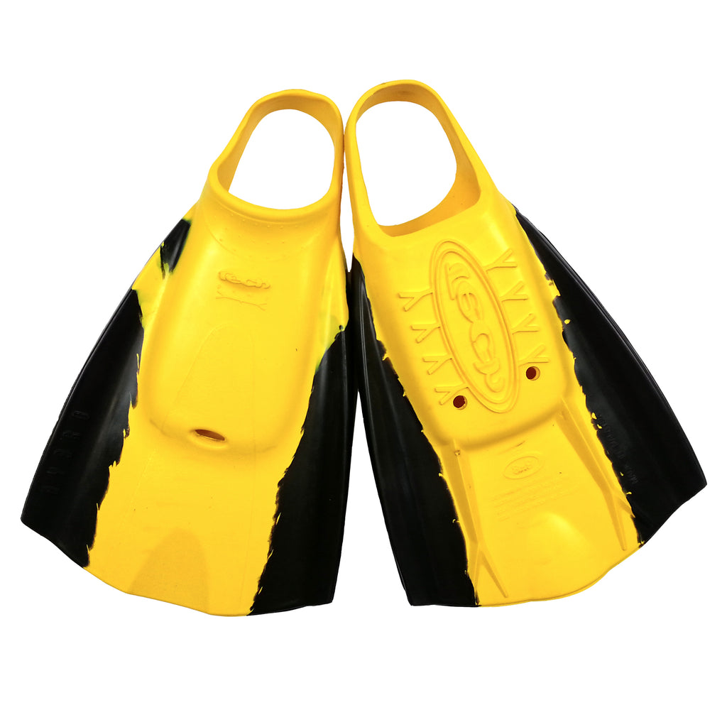 Tech Swimfins - Yellow/Black - L