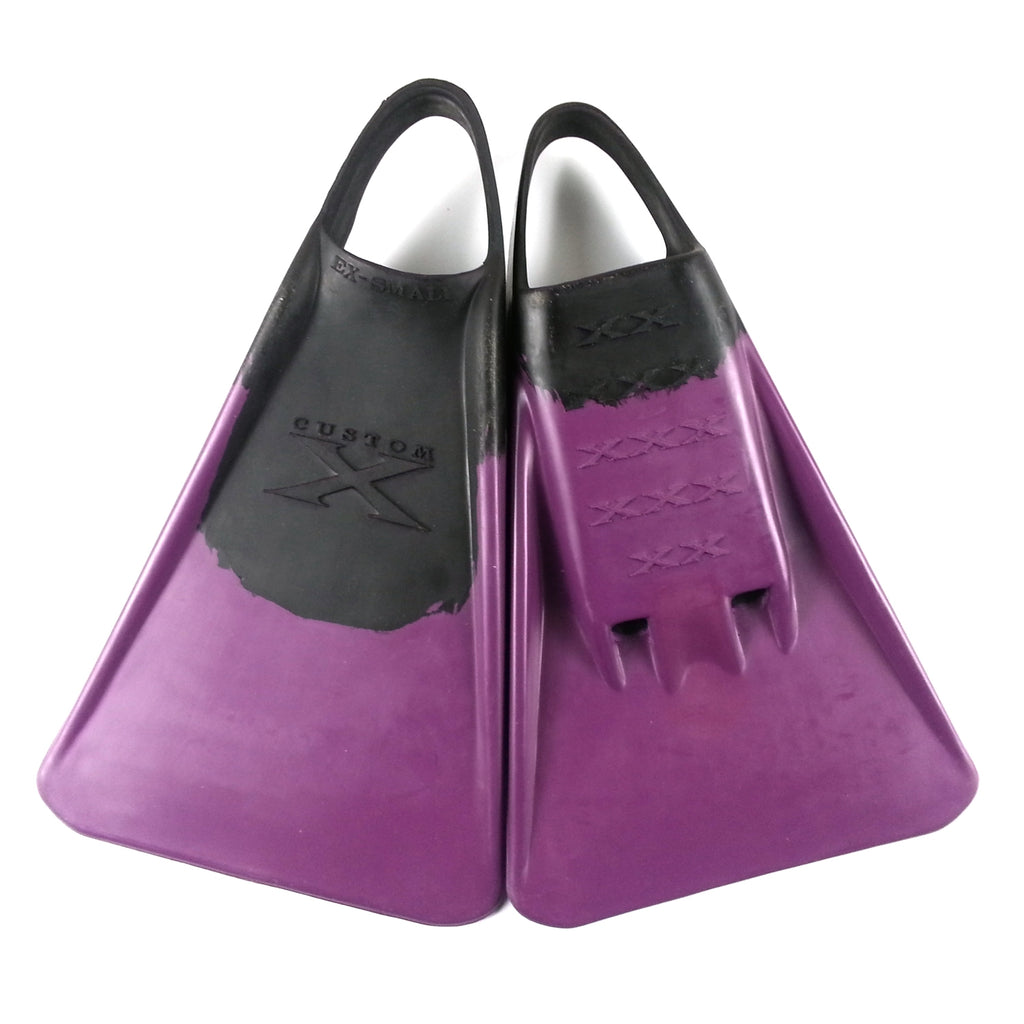 Custom X Swimfin - Black/Purple - XL