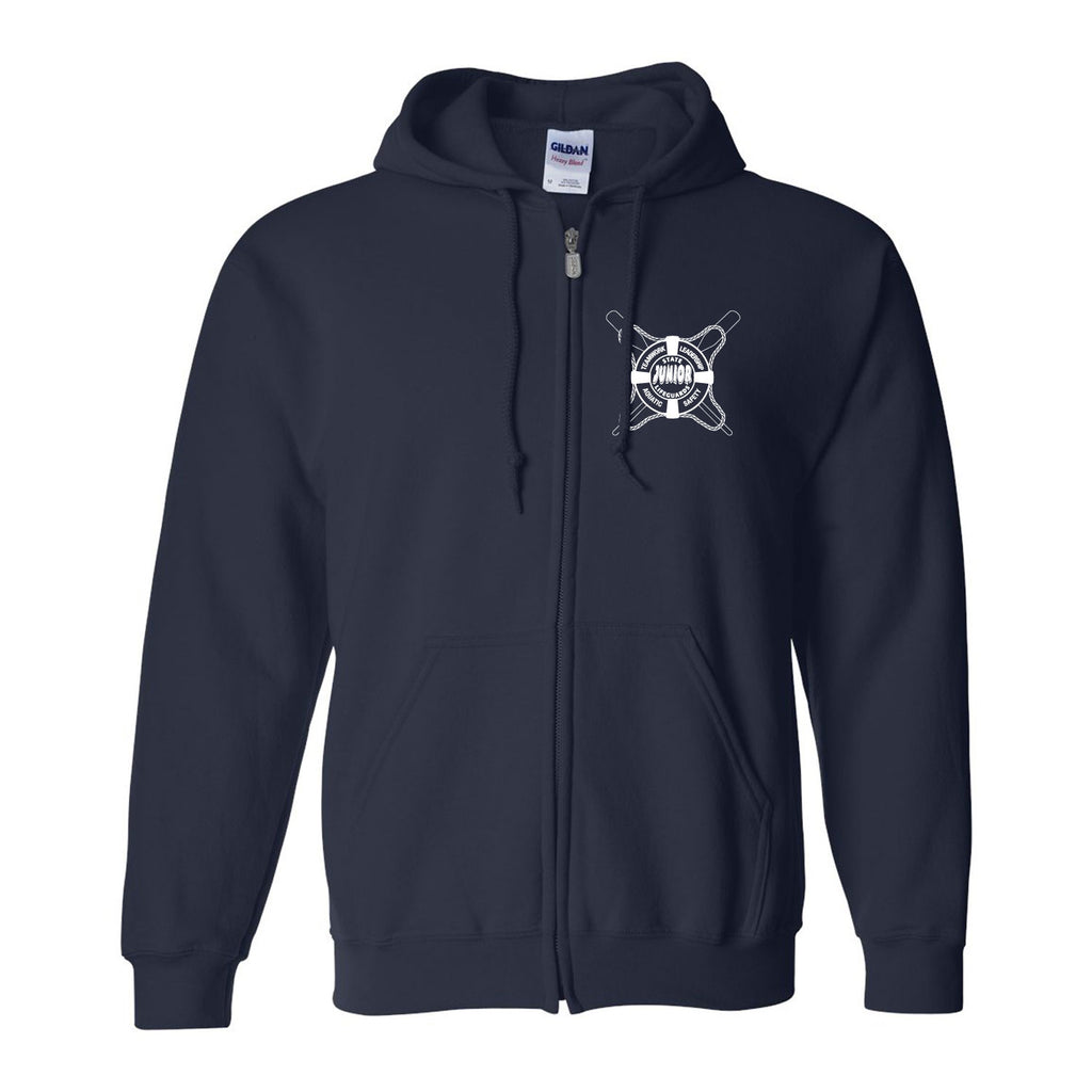 State Oars Jr. Guards Zip Hooded Sweatshirt - Navy