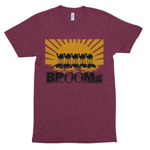 Sunset Camels of Broome - Unisex soft t-shirt