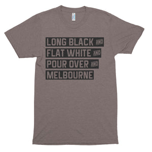 Melbourne Coffee - Unisex soft t-shirt