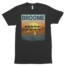 Broome Camels Art Deco - Unisex soft t-shirt