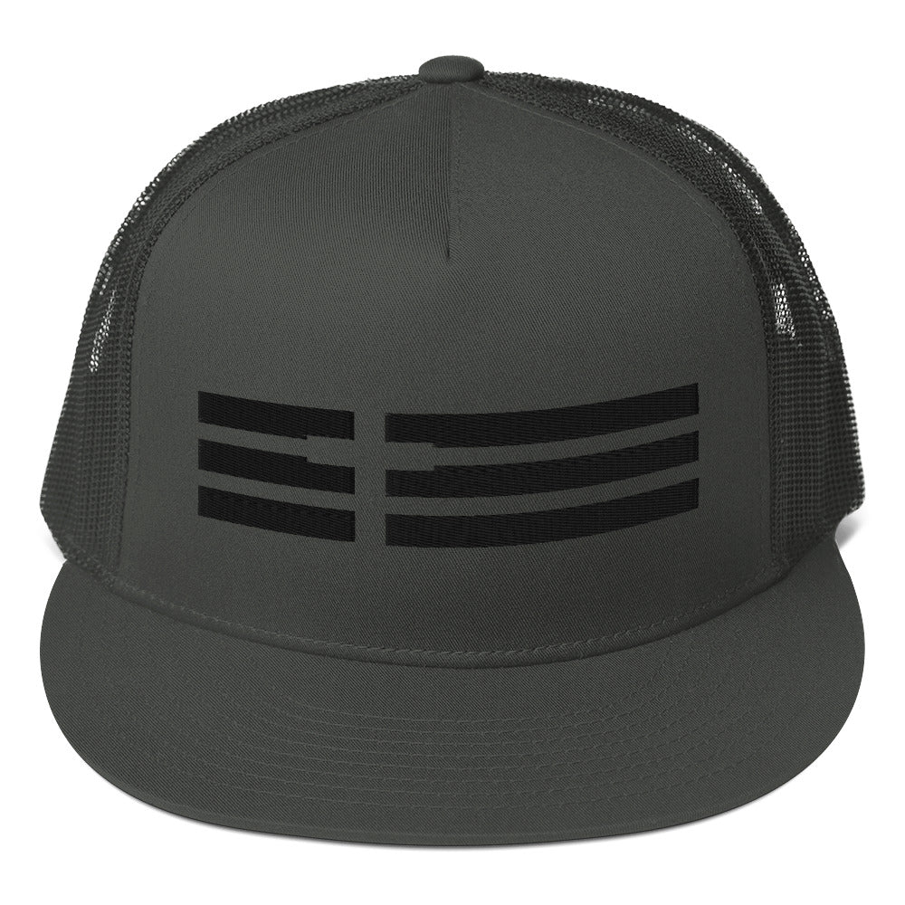 Cross / Flag Mesh Back Snapback