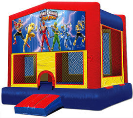 Combo 4-in-1 Jumper w/ slide, blue (themes available)