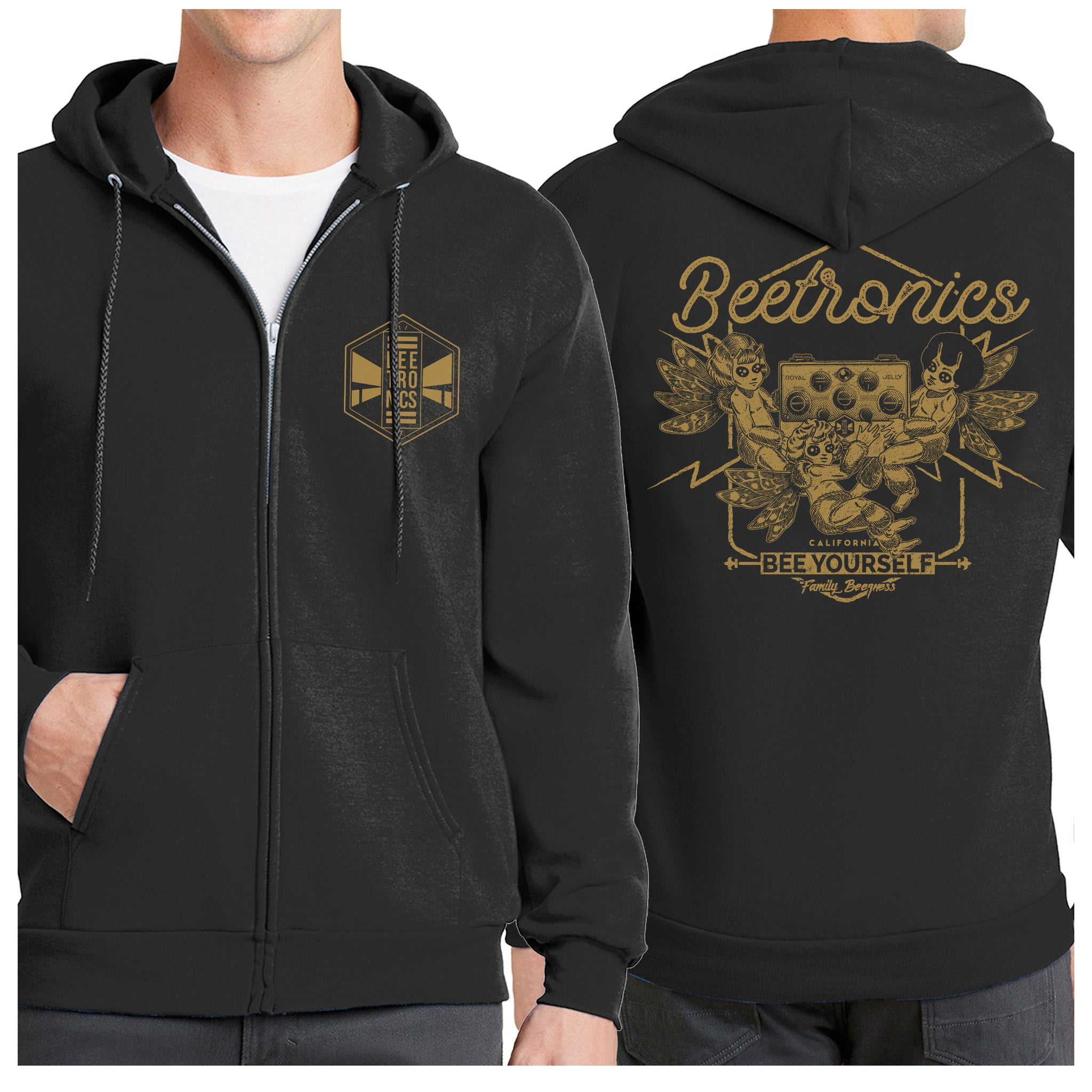 "Beetronics Hoodie ""Royal Jelly"""
