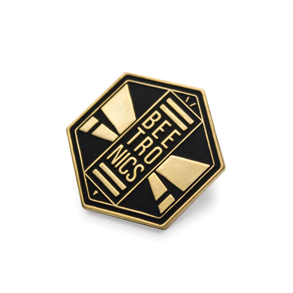 Gold Logo Enamel Pin