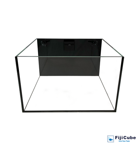 48G EXT Plus - 48 Gallon w/External Overflow Rimless Tank - Fiji Cube
