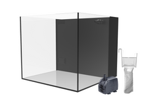 Fiji Cube 22.4 Gallon Cube Rimless AIO Glass Nano Tank