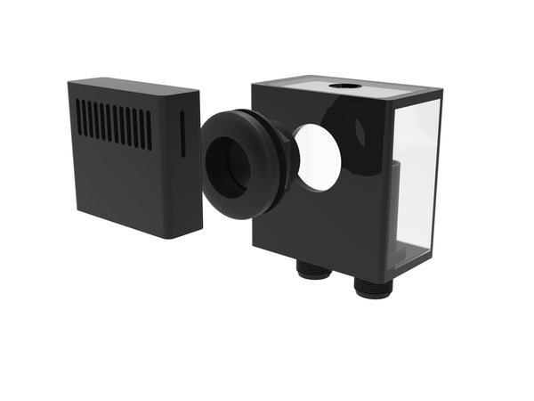 Fiji Cube Low Profile External Overflow Box 400GPH
